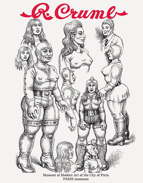 R CRUMB FROM UNDERGROUNDS TO GENESIS HC