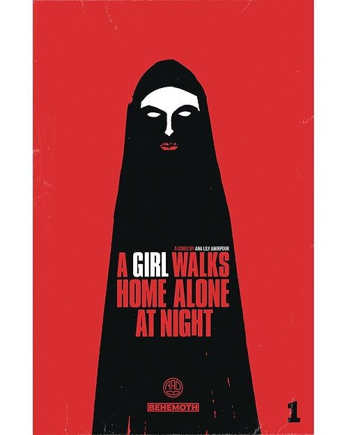 A GIRL WALKS HOME ALONE AT NIGHT GN