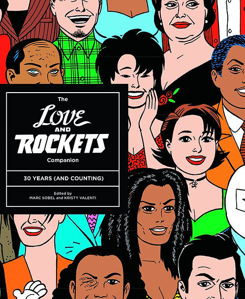 LOVE AND ROCKETS COMPANION 30 YEARS SC