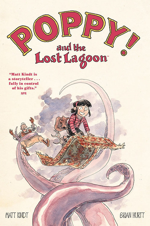 POPPY AND THE LOST LAGOON GN