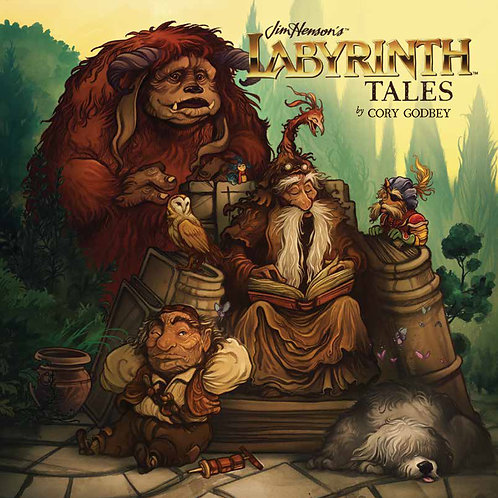 JIM HENSON LABYRINTH TALES HC