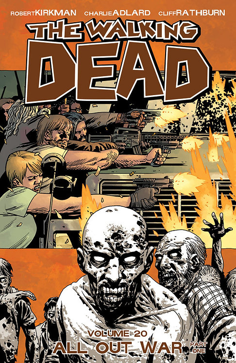 THE WALKING DEAD VOL 20 ALL OUT WAR PART ONE TP