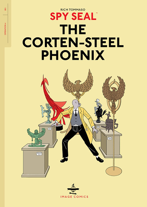 SPY SEAL TP VOL 01 CORTEN-STEEL PHOENIX