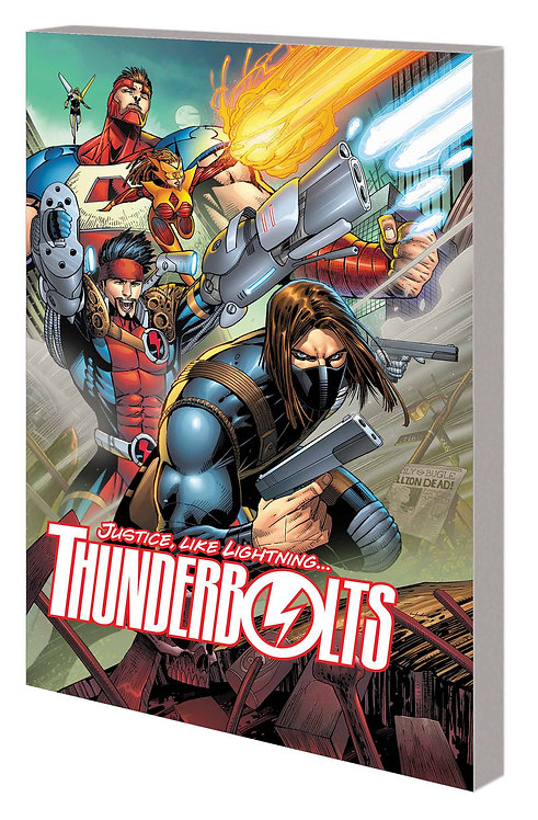 THUNDERBOLTS TP VOL 01 THERE IS NO HIGH ROAD
