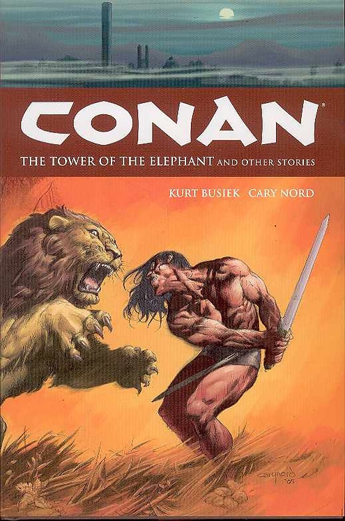 CONAN TP VOL 03 TOWER OF THE ELEPHANT & STORIES