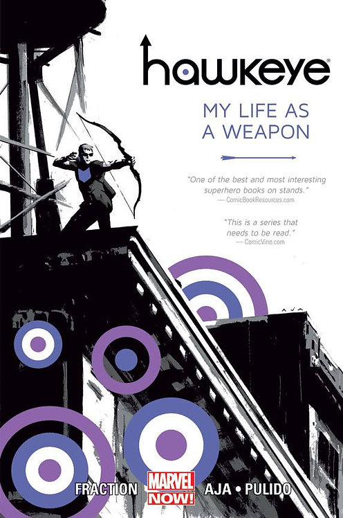 HAWKEYE TP VOL 01 MY LIFE AS WEAPON NOW