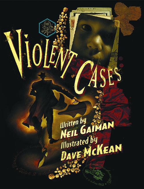 VIOLENT CASES HC (PLEASE NOTE - COVER DAMAGE - info in description)