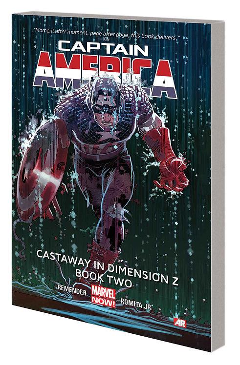 CAPTAIN AMERICA TP VOL 02 CASTAWAY DIMENSION Z BOOK TWO