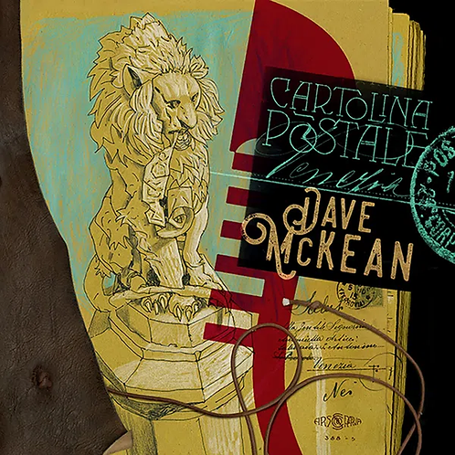 DAVE MCKEAN POSTCARDS FROM VENICE (SIGNED)