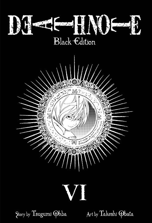 DEATH NOTE BLACK ED TP VOL 06