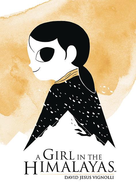A GIRL IN THE HIMALAYAS ORIGINAL GN