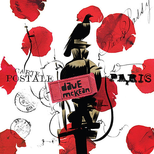 DAVE MCKEAN POSTCARDS FROM PARIS (SIGNED)