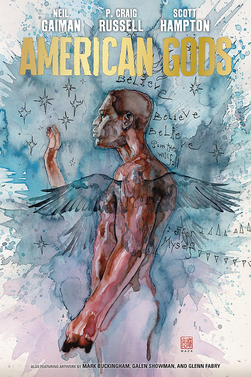 AMERICAN GODS NEIL GAIMAN HC VOL 02 SHADOWS
