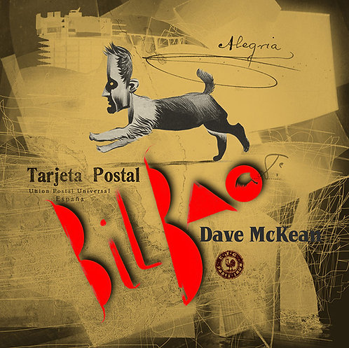 DAVE MCKEAN POSTCARDS FROM BILBAO (SIGNED)
