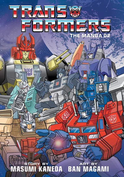 TRANSFORMERS CLASSIC TV MAGAZINE MANGA HC VOL 02