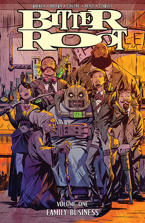 BITTER ROOT TP VOL 01 FAMILY BUSINESS