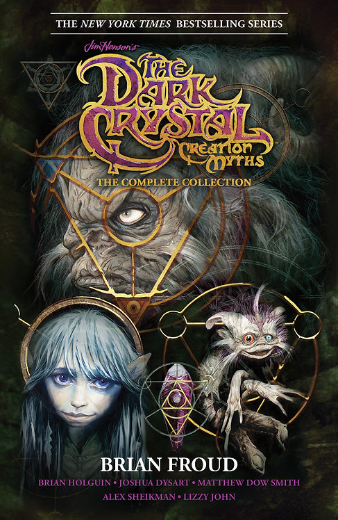 JIM HENSON DARK CRYSTAL CREATION MYTHS COMPLETE SC