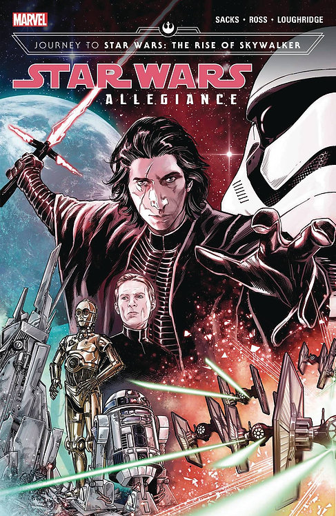 STAR WARS JOURNEY TO RISE OF SKYWALKER ALLEGIANCE TP VOL 01
