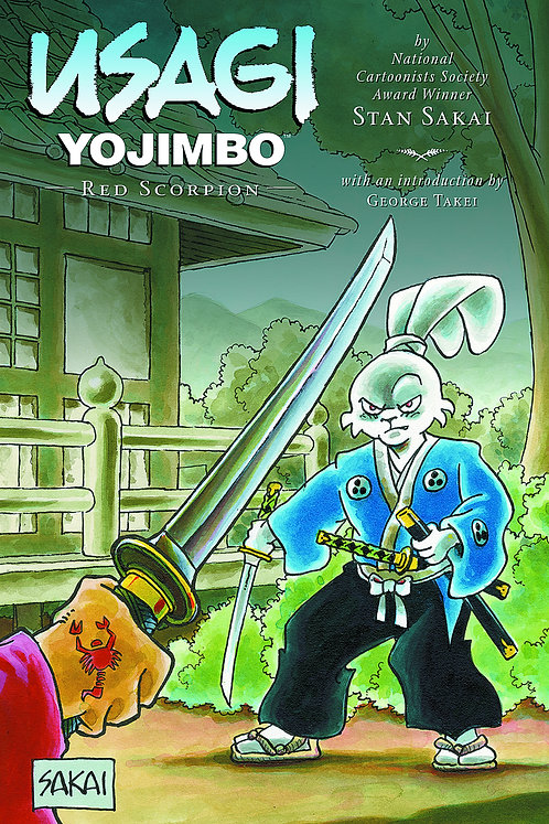 USAGI YOJIMBO LTD HC RED SCORPION *SIGNED*