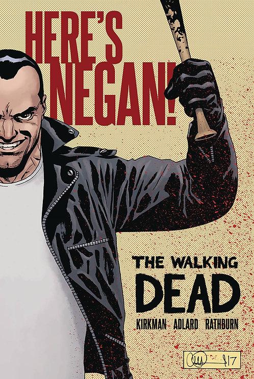 WALKING DEAD HERES NEGAN HC