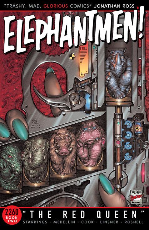 ELEPHANTMEN 2260 TP BOOK 02