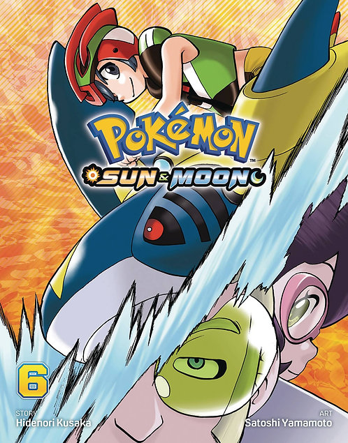 POKEMON SUN & MOON GN VOL 06
