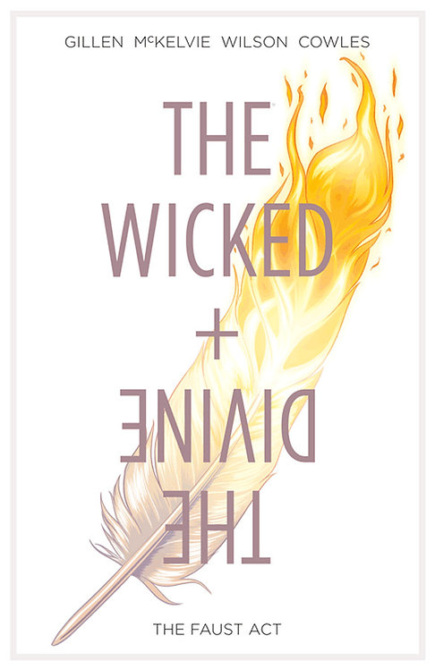 THE WICKED + THE DIVINE VOL 1 THE FAUST ACT TP