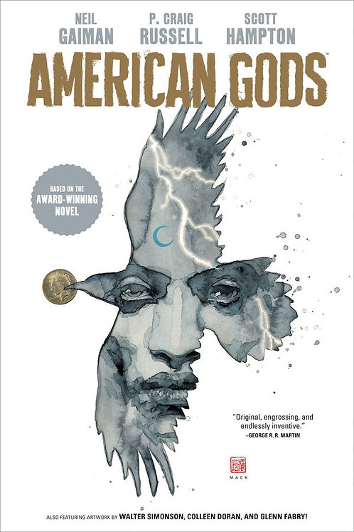 AMERICAN GODS NEIL GAIMAN HC VOL 01 SHADOWS