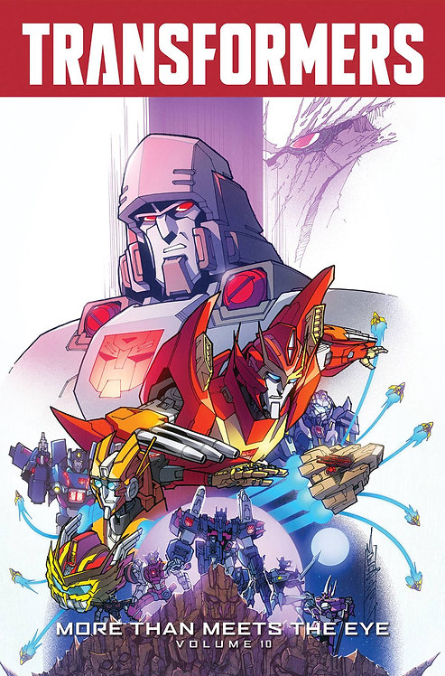 TRANSFORMERS MORE THAN MEETS THE EYE TP VOL 10