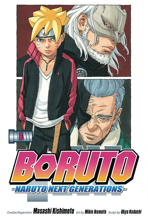 BORUTO GN VOL 06 NARUTO NEXT GENERATIONS