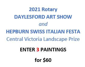 ENTRY FEE for 3 paintings