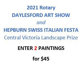 ENTRY FEE for 2 paintings