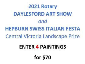 ENTRY FEE for 4 paintings