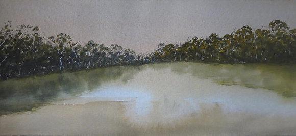 Stillness (Wombat Dam Daylesford 2020)