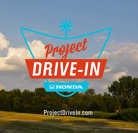 Project Drive-in Branded Content/Social/Web