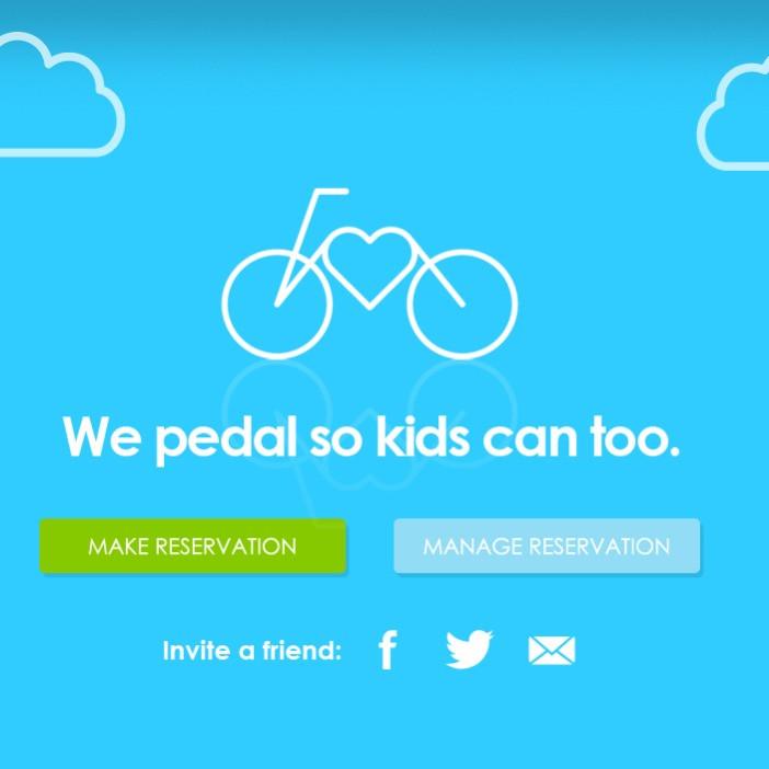 RPA Giveback Bike. Social/Web/Charity
