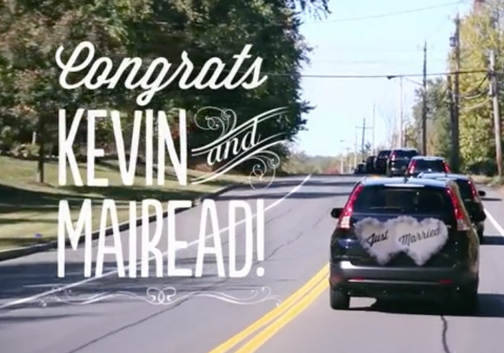 Honda Kevin and Mairead Wedding. SOCIAL VIDEO