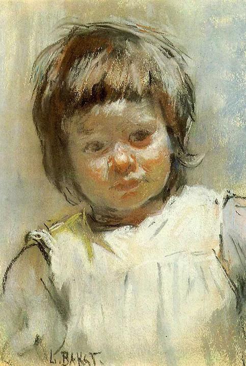 Bakst_Portrait of Maria Markovna Klyachko, ple