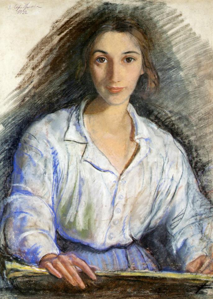 Серебрякова З. Е. Автопортрет.jpg