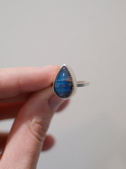 Labradorite Ring Size 5.25