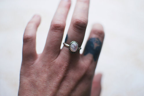 Moonstone Ring Size 7.5