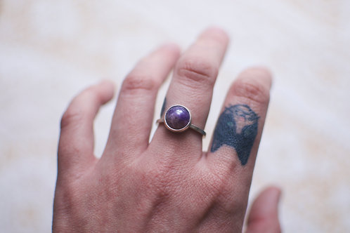 Amethyst Ring Size 7.75