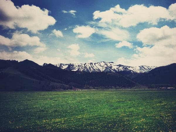 Sunlight Basin, Wyoming