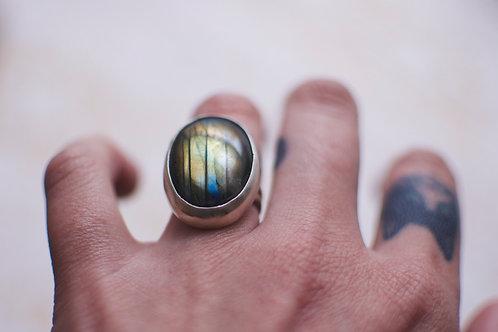Labradorite Ring Size 5.5