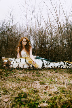 Tiffany and her Tiger