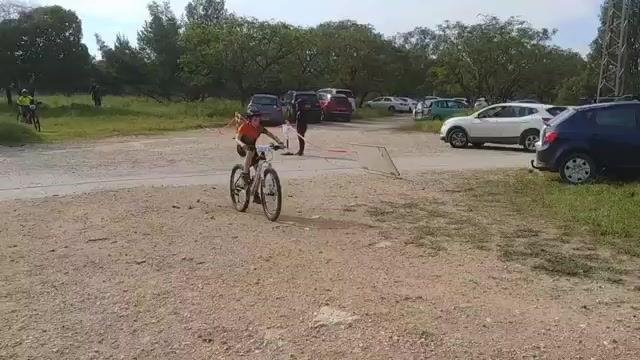 תחרות אופני הרים XCO ביער קולה.