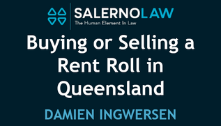 Buying or Selling a Rent Roll in Queensland