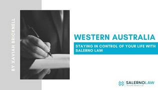 Staying in Control of Your Life with Salerno Law