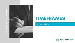 Timeframes in Franchising