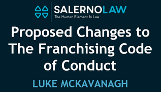 Proposed Changes to the Franchising Code of Conduct